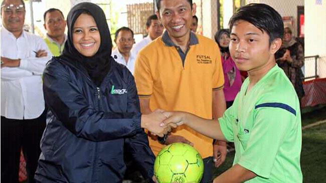 Kecamatan Pesantren Gelar Kompetisi Futsal Puteri Cup III
