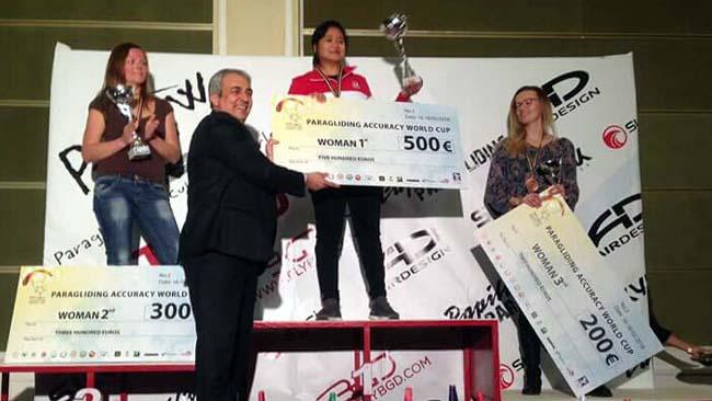 Rika Wijayanti, Tahbiskan Juara Dunia Paralayang PGAWC