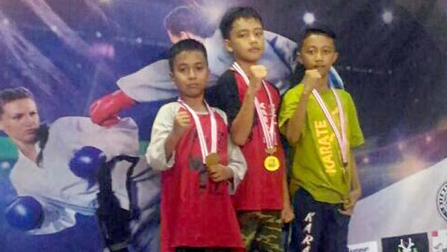 Atlet Karate Situbondo, Borong Medali di Piala Rektor III Universitas Jember