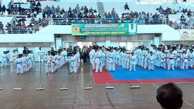 Maksimalkan prestasi karateka hingga kancah nasional dan internasional. (ist)
